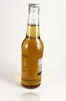 Glass Bottle Beer Royalty Free Stock Images