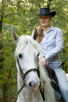 Free Young Horsewoman Stock Images - 18249394