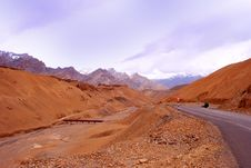 Free Beautiful Orange Ladakh Landscape Stock Image - 18249921