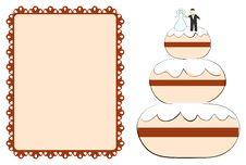 Free Wedding Cake Royalty Free Stock Image - 18249996