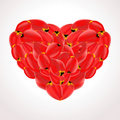 Free Petal Heart Royalty Free Stock Images - 18251289