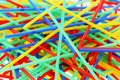 Free Colorful Drinking Straws Royalty Free Stock Photos - 18259618