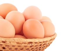 Free Fresh Brown Eggs. Stock Photography - 18251062
