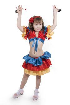 Free Little Girl Dancer. Stock Image - 18251561