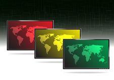 Free LCD TV -  Illustration Royalty Free Stock Image - 18251656
