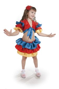 Free Little Girl Dancer. Royalty Free Stock Photography - 18251707