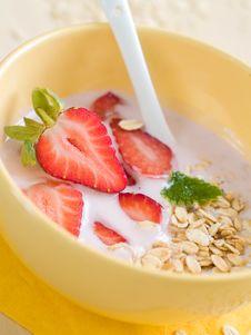 Free Yogurt Breakfast Stock Photo - 18251800