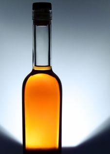 Free Bottle Of Cognac Stock Image - 18251851