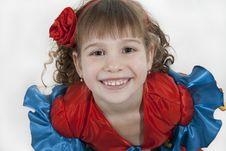 Free Little Girl Dancer. Stock Image - 18251941