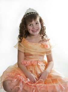 Free Girl Princess. Royalty Free Stock Photo - 18252025