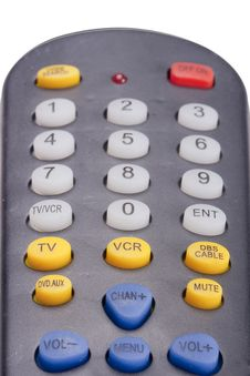 Free Remote For The TV Stock Photo - 18255150