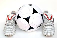 Football Boots Royalty Free Stock Images