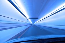 Free Tunnel Driving Stock Photos - 18256113