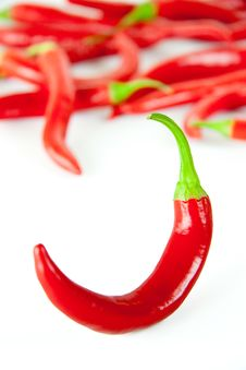 Free Red Hot Chili Pepper Stock Image - 18256861