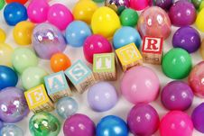 Easter Egg Party Stock Photography