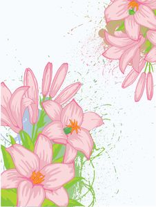 Free Floral Background Stock Photos - 18258213