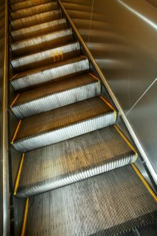 Free Elevator Stairs Royalty Free Stock Photo - 18258345