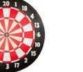 Free Dartboard On White Stock Images - 18260234