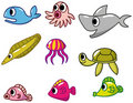 Free Cartoon Fish Icon Royalty Free Stock Images - 18263979
