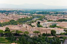 Free View At Rome Royalty Free Stock Image - 18260206