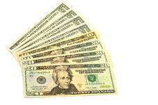Free Banknotes In Twenty Dollars Royalty Free Stock Photo - 18260215