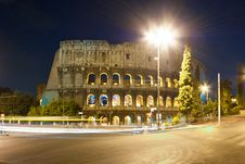 Free Colosseum Royalty Free Stock Photo - 18260225
