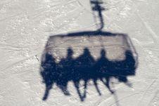 Free Gondola Shadow Royalty Free Stock Photography - 18260267