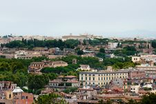 Free View At Rome Royalty Free Stock Photo - 18260305