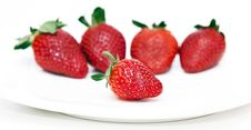 Free Isolated Fruits - Strawberries Stock Photo - 18261700