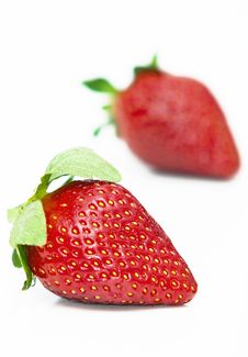 Free Isolated Fruits - Strawberries Royalty Free Stock Photo - 18261755