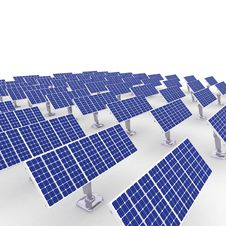 Free Solar Energy Panels. Stock Photography - 18262062