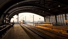 Free The Airport Link Station In Late Afternoon Stock Photos - 18262113