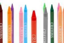 Free Colorful Crayons Royalty Free Stock Image - 18264006