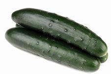 Organic Cucumbers Stock Photos