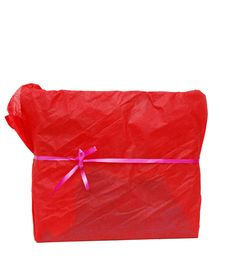 Free Red Gift Box Stock Photos - 18264273
