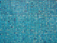 Free Blue Mosaic Stock Images - 18264294