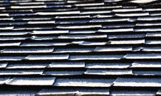 Free Frost On Roof Shingles Stock Photography - 18264352