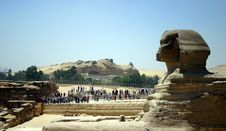 Free Sphinx In Profile Royalty Free Stock Photography - 18265127