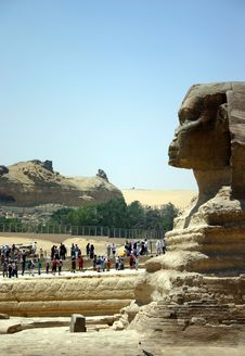 Free Visiting The Sphinx Stock Images - 18265134