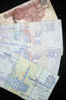 Free Egyptian Pounds Stock Images - 18265184