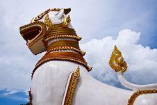Wat Wang Wiwekaram Stock Images