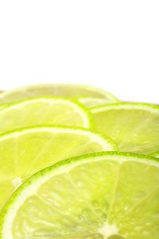 Free Sliced Lime Close-up Stock Photo - 18265910