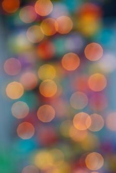 Free Colorful Bokeh Stock Photo - 18266270