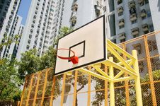Free Basketball Court In Abstract View Royalty Free Stock Image - 18266606