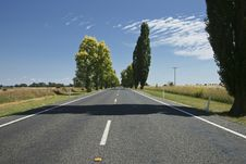 Free Straight Road. Royalty Free Stock Image - 18266706