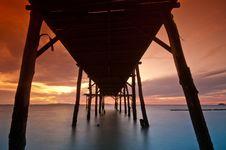 Free Sea Bridge Royalty Free Stock Photos - 18267078