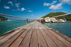 Free Bridge To The Island Royalty Free Stock Photo - 18267155