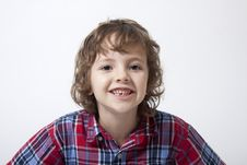 Free Boy With Missing Tooth Stock Photography - 18267822