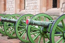Free Cannons Stock Images - 18267834