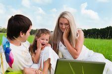 Free Happy Family Stock Photo - 18267940